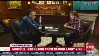 larry king el legendario presentador en eeuu