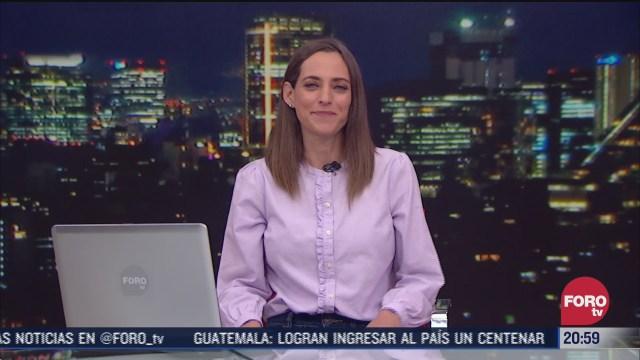 las noticias con ana francisca vega programa del 15 de enero de