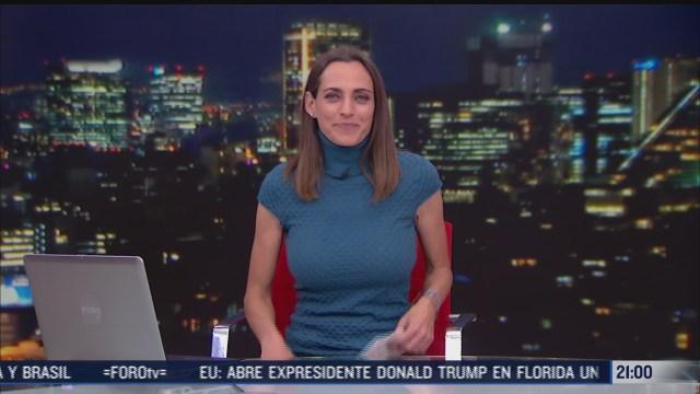 las noticias con ana francisca vega programa del 25 de enero de