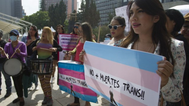 Las personas trans suelen enfrentar constantes estados de violencia y discriminación en su contra. (Cuartoscuro.com Isaac Esquivel)