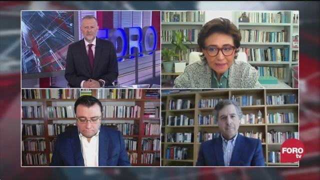 Leo Zuckermann, Blanca Heredia, Sabino Bastidas y Luis de la Calle analizan el panorama político en Estados Unidos tras el asalto al capitolio