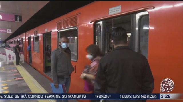 linea 1 del metro reinicia operaciones con 10 trenes