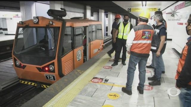 lista linea 1 del metro cdmx para reanudar servicio