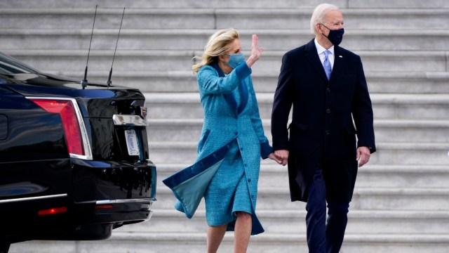Los esposos Biden