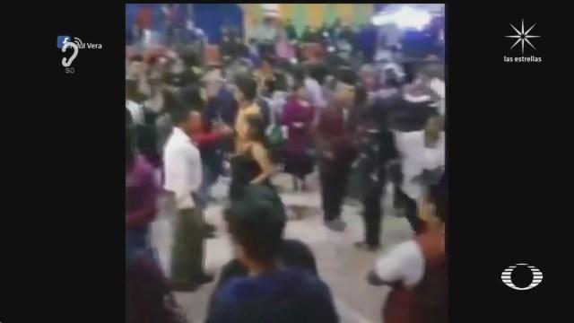 mas de cinco mil personas acuden a baile en chiapas