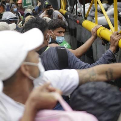 La Secretaría de Relaciones Exteriores pidió a Guatemala impedir nuevos desplazamientos de migrantes