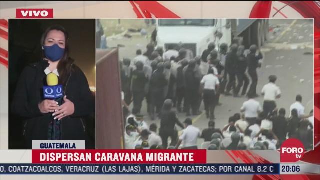 migrantes hondurenos deciden dispersarse para evitar su arresto en guatemala