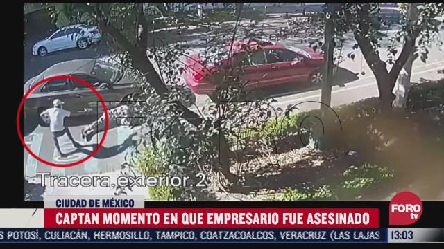 momento en que matan a tiros al empresario martiniano rodriguez en la napoles