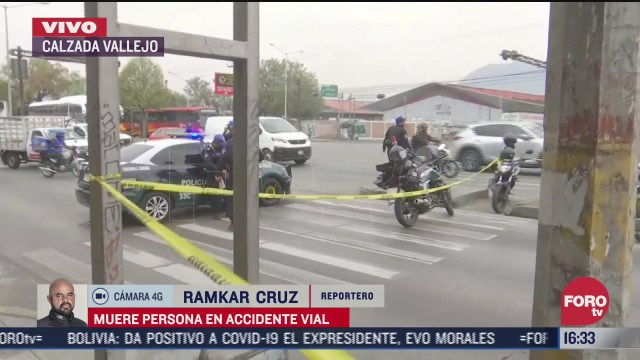 muere motociclista en accidente en vallejo