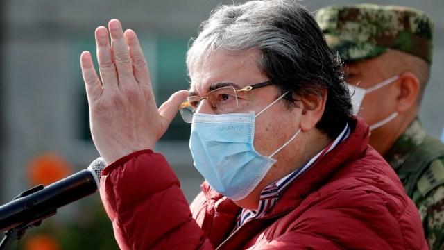 Muere por COVID-19 el ministro de Defensa de Colombia, Carlos Holmes Trujillo