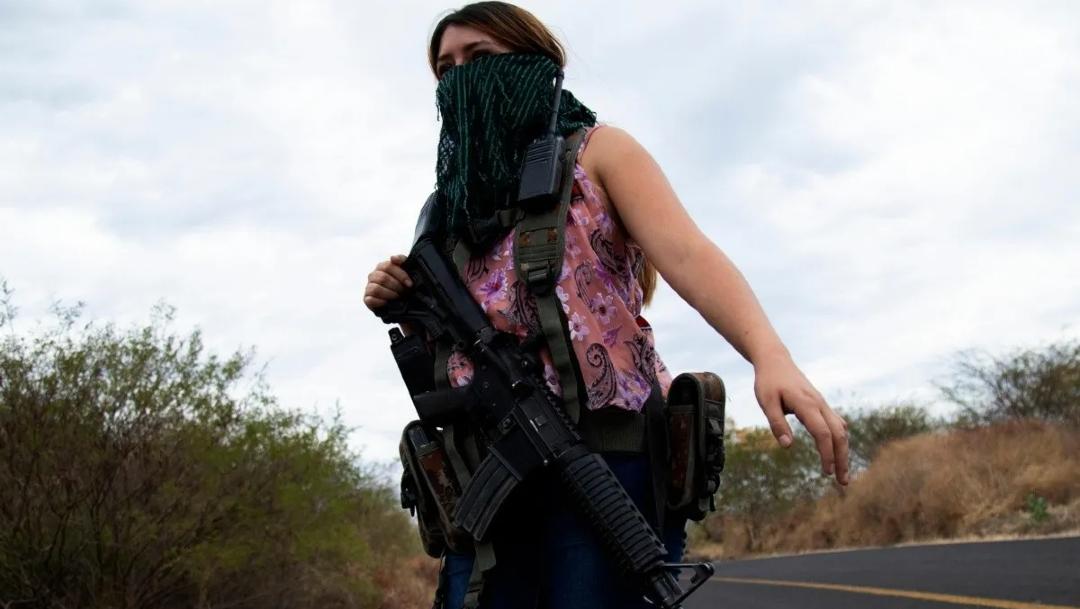 Mujeres en Michoacán forman nuevo grupo de autodefensa contra el CJNG