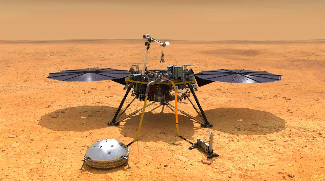 NASA extiende misiones en Marte y Júpiter