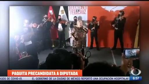 paquita la del barrio busca candidatura como diputada en veracruz