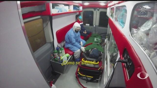 paramedicos de empresas particulares saturados por emergencias covid