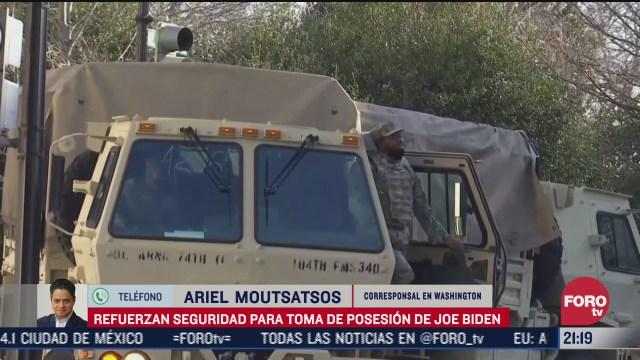 pentagono teme sublevacion de la guardia nacional en toma de posesion de biden