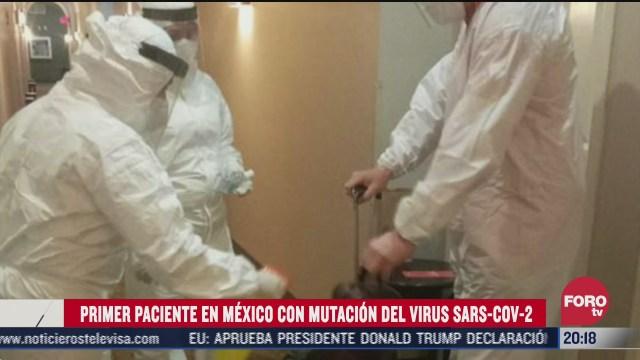 primer caso de la mutación del COVID-19, B117, en Tamaulipas