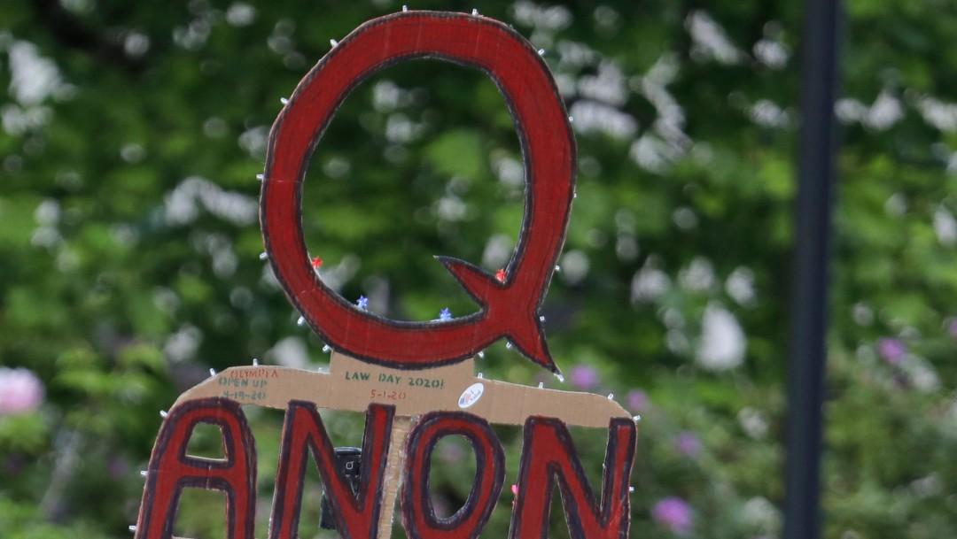 'Qanon', grupo radical de extrema derecha, legado de Trump