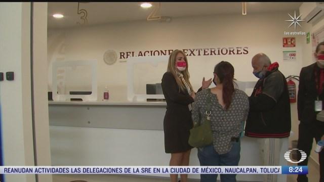 reanudan tramite de pasaporte en cdmx y estado de mexico