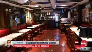 restaurantes abriran el lunes segun acuerdo entre el gremio y cdmx