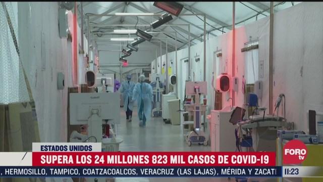 se elevan mas de 24 millones de nuevos casos covid 19 en ee uu