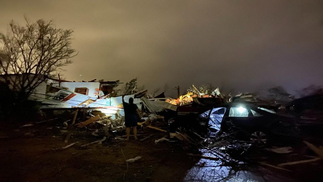 Un tornado deja daños y varios heridos en Alabama