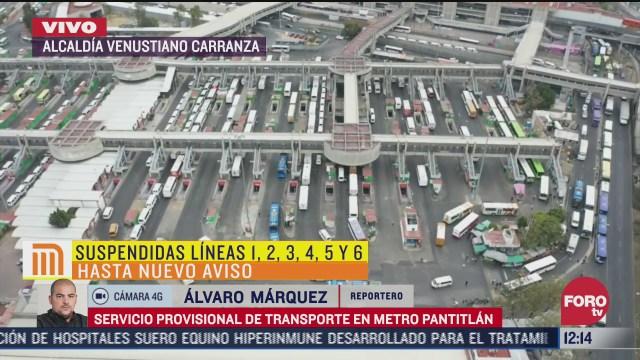 usuarios del metro tardan hasta 50 minutos en abordar camiones de rtp