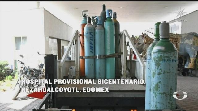 vecinos evitan que desmantelen hospital provisional en nezahualcoyotl