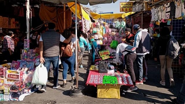 Zona de La Merced, en la Ciudad de México
