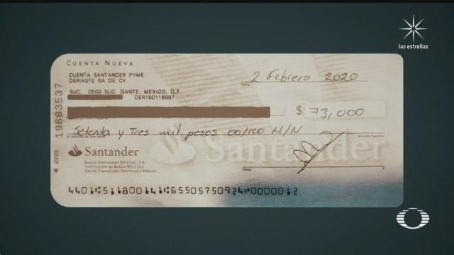 alerta por defraudacion con cheques