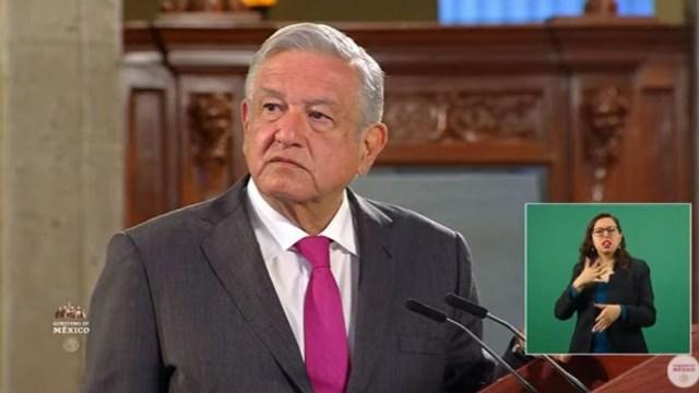 El presidente Andrés Manuel López Obrador, en la conferencia de prensa matutina