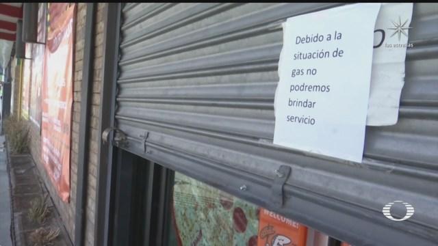 armadoras y pequenos negocios en la frontera afectados por escasez de gas natural
