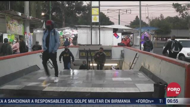 avance lento de trenes tras incidente en la linea 5 del metro en cdmx