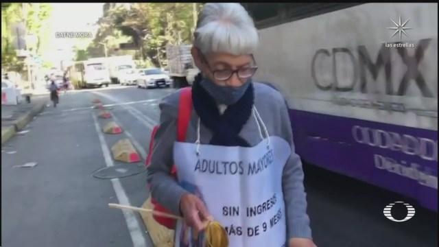 cerillos piden ayuda en calles de la cdmx