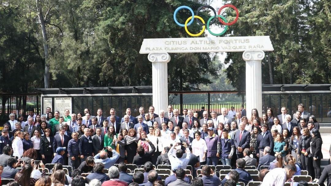 Autoridades del Comité Olímpico Mexicano (Cuartoscuro, archivo)