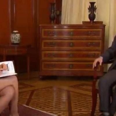 Danielle Dithurbide y Arturo Herrera en entrevista para Despierta.