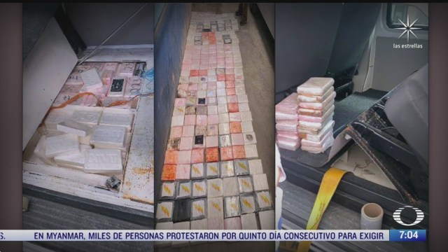 decomisos de cocaina en el valle de mexico