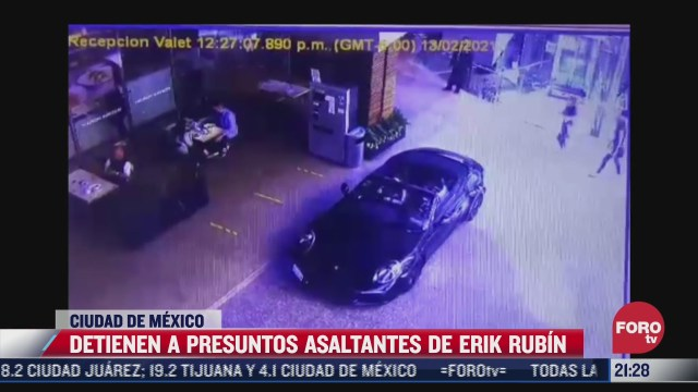 detienen a presuntos asaltantes del cantante erik rubin