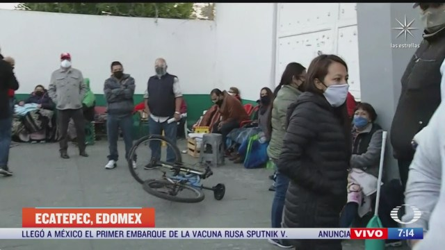 Cierran varios centros de vacunación COVID-19 en Ecatepec, Edomex