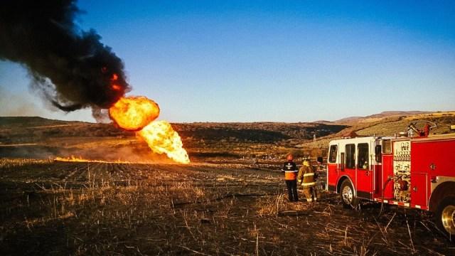Fuga de gas en ducto de Pemex provoca movilización en Pénjamo, Guanajuato