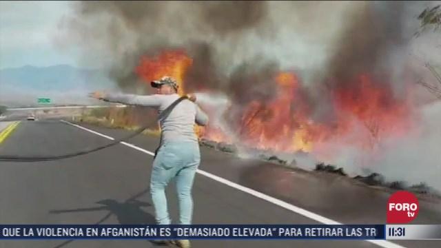 incendios provocados en arriaga chiapas se mantienen activos