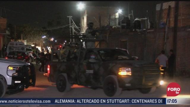 investigan ataque armado que dejo 11 muertos en jalisco
