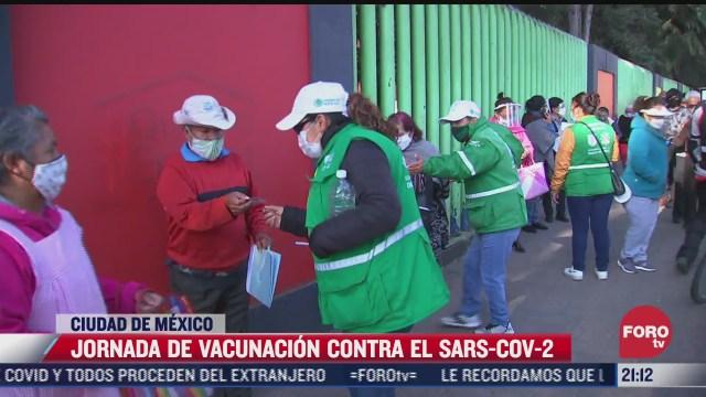 jornada de vacunacion transcurre sin contratiempos en alcaldias xochimilco iztacalco y tlahuac