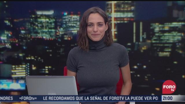 las noticias con ana francisca vega programa del 25 de febrero de