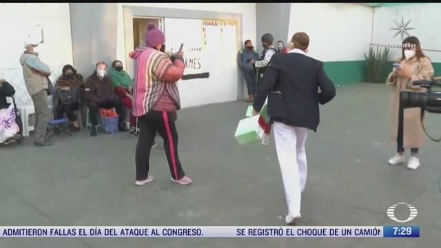 llegan vacunas covid 19 al centro civico melchor muzquiz en ecatepec