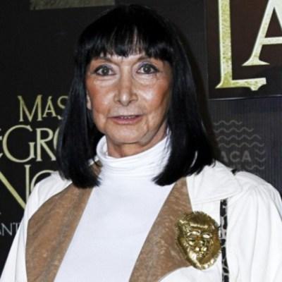 Murió la primera actriz Lucía Guilmáin a los 83 años