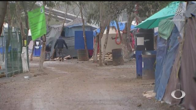migrantes en matamoros inician tramites de solicitud de asilo politico