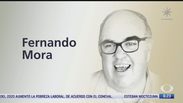 muere fernando mora periodista y reportero de noticieros televisa