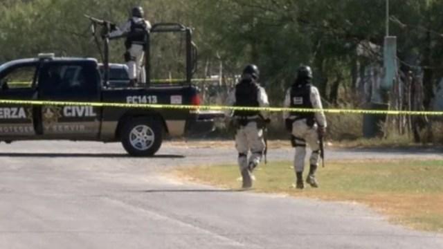 Policías en Nuevo León