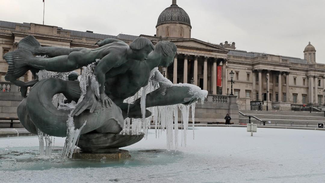 Reino Unido registra su temperatura más baja en 25 años, con -22.9 grados