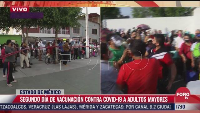 se registra una rina en centro de vacunacion contra el covid 19 en ecatepec